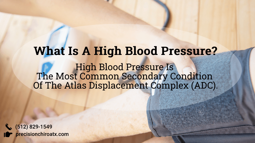 What Is A High Blood Pressure High Blood Pressure Is The Most Common Secondary Condition Of The Atlas Displacement Complex (ADC).-min